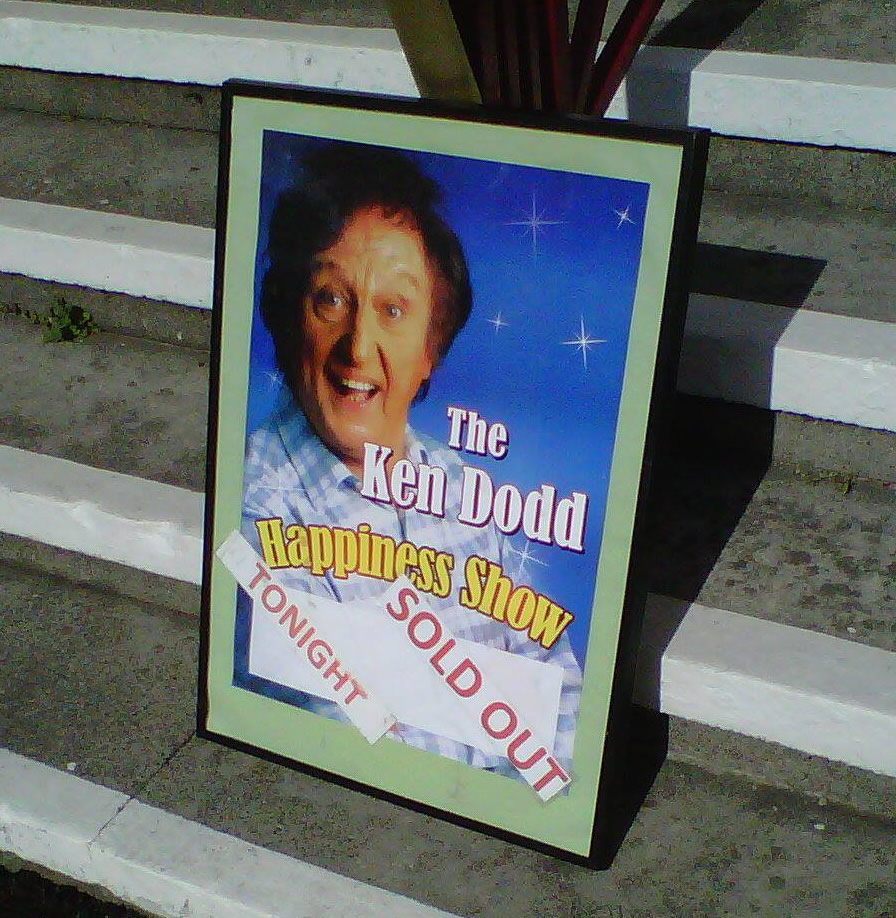 Ken Dodd at Shanklin Theatre